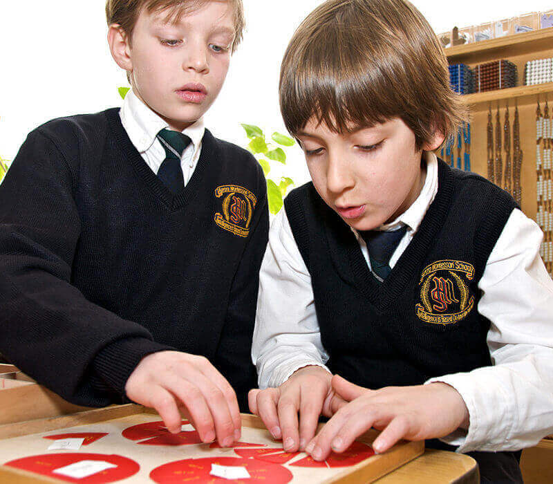 students playing games